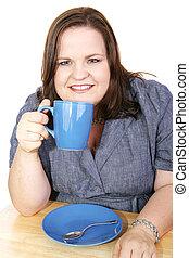 Businesswoman - Coffee Break