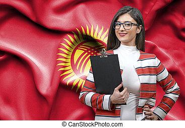 Businesswoman from Kyrgyzstan