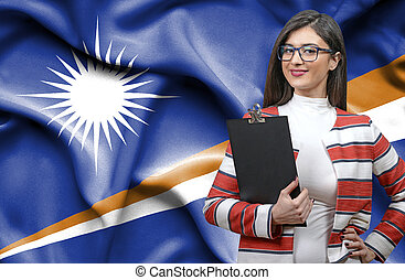 Businesswoman from Marshall Islands