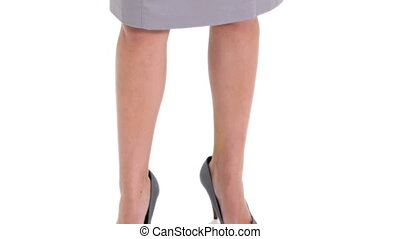 Businesswoman in a dress