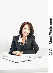Businesswoman in the workplace