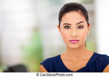 businesswoman, ind, kontor