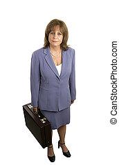 Businesswoman Isolat