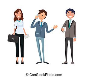 businesswoman, mand træffes, forretningsmand