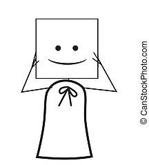 businesswoman mask