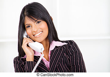 businesswoman on the phone - beautiful businesswoman on the...
