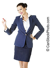 businesswoman, teken
