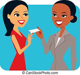 Two businesswoman
