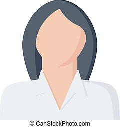 Businesswoman vector illustration