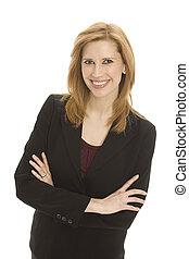 businesswoman, vertrouwen
