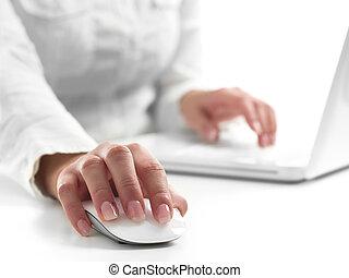 businesswoman, werken