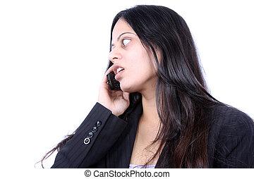 Businesswomen on Phone