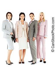 Businesswomen team