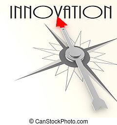 busola, słowo, innowacja