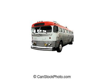 buss, stad
