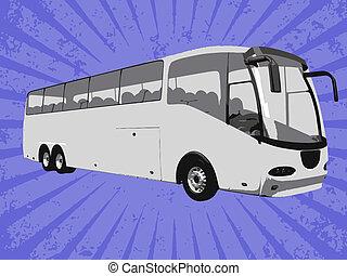 buss, vektor