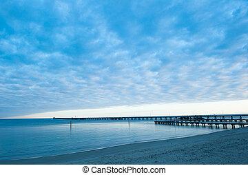 Busselton Jetty Sunrise Ocean