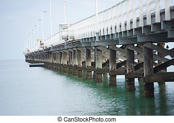 Busselton Jetty Western Australia - Historic Busselton Jetty...
