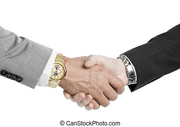 Bussines hand shaking