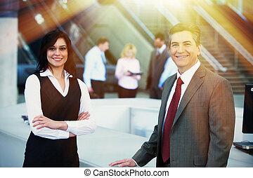 bussiness, partenaires