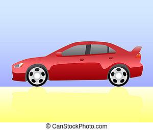 bussola, automobile, sport
