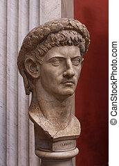 buste, claudius
