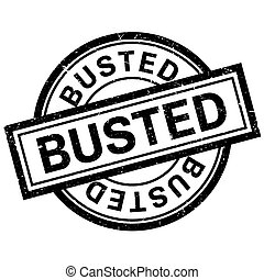 Busted rubber stamp