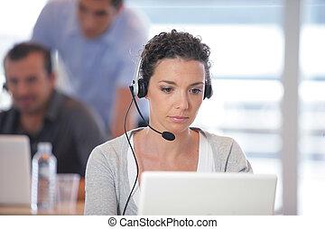 Busy call-center