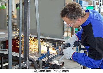 busy welders