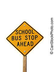buszmegálló, aláír