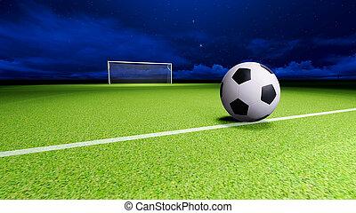 but football, balle