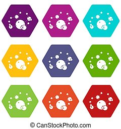 Butane icons set 9
