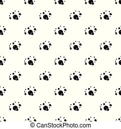 Butane pattern vector seamless repeating for any web design