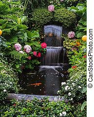 Butchart Garden Park on Vancouver Island