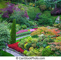 Butchart Gardens - a set of amazingly beautiful gardens on ...