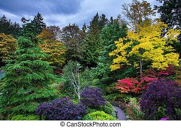 Butchart Gardens - on Vancouver Island - Butchart Gardens - ...