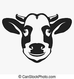 Butcher shop sign premium beef label