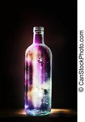 butelka, wszechświat
