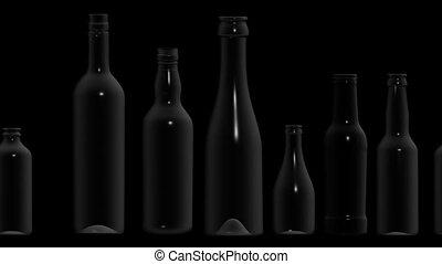 butelki, opróżniać