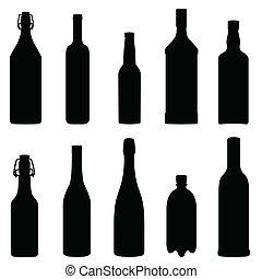 butelki, zbiór