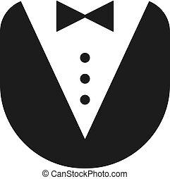 butler uniform icon