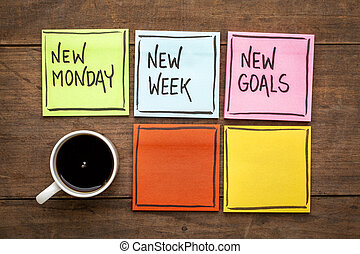 buts, semaine, nouveau, lundi
