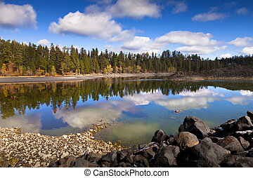 Butte Lake is a lake located in the northeast section of Lassen Volcanic National Park