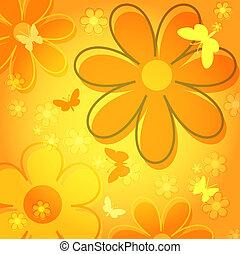 Butteflies - Flowers and butterflies