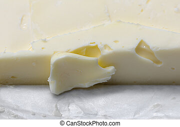 butter as background