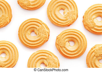 butter biscuits background