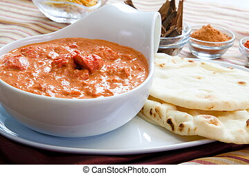 Creamy butter chicken made the way its made in Punjab