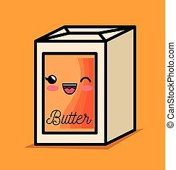 Butter fruehstueck bread vektor illustration suche clipart zeichnungen bilder und eps - Kawaii kochen ...