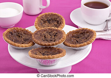 Butter tarts and tea
