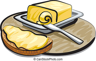 butter stock illustrations 9 784 butter clip art images and royalty rh canstockphoto ie butter clip art illustration butter clip art illustration